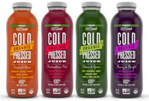 7-Select GO!Smart Organic Cold Pressed Juice