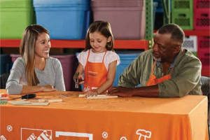 FREE Field Goal Game Workshop for Kids at Home Depot