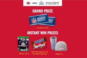 Snickers and Skittles Super Bowl LII Rivalry 2018 Sweepstakes & Instant Win Game