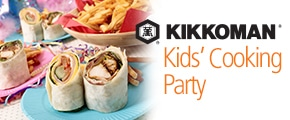 FREE Kikkoman Kids' Cooking Party Pack