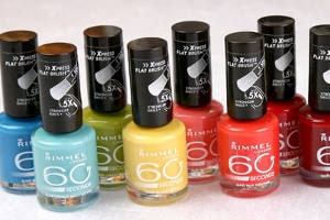FREE Rimmel 60 seconds Nail Polish