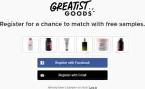 FREE Samples from Greatist Goods