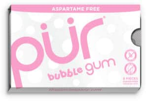 FREE Pack of PUR Bubble Gum