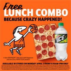 FREE Lunch Combo at Little Caesars
