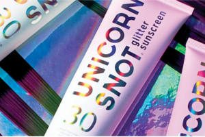 FREE Unicorn Snot Glitter Sunscreen