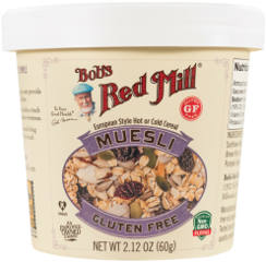 FREE Bobs Red Mill Muesli Cup