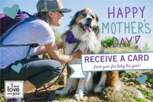 FREE Mother's Day Card with Your Pet