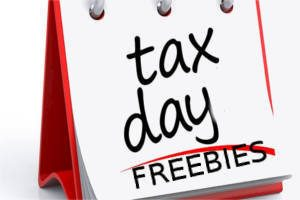 Tax Day Freebies 2018