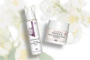 FREE DERMA-E Advanced Peptide and Collagen Serum & Moisturizer Sample