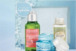 FREE On-the-Go Hydration Gift at L'Occitane Stores