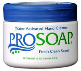 FREE ProSoap Water-Activated Hand Cleaner Sample