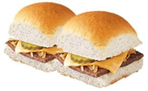 2 FREE Original Sliders with Cheese at White Castle