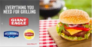 FREE It's Grilling Season with Giant Eagle Party Pack