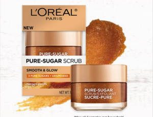 FREE L'oreal Paris Pure-sugar Grapeseed Scrub Sample