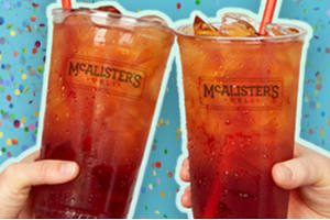 FREE Iced Tea at McAlisters Deli