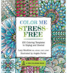 FREE Color Me Stress-Free Adult Coloring Book