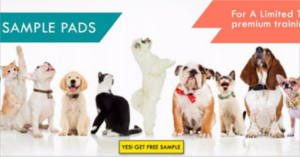 FREE Petsworld Dog Training & Potty Pads Sample