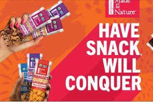 FREE Made in Nature Organic Snacks