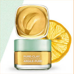 FREE LOreal Paris Pure-Clay Yuzu Mask Sample