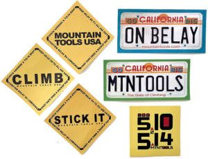 FREE Mountain Tools Stickers