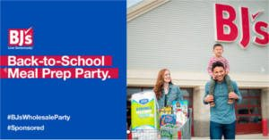 FREE Back-to-School Meal Prep Party Pack