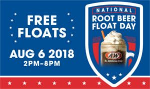 FREE Root Beer Float at A&W