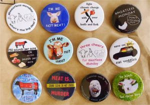 FREE Humane Bumper Stickers and Buttons