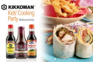 FREE Kikkoman Kids Cooking Party Pack