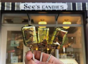 FREE Lollypops at Sees Candies Shops