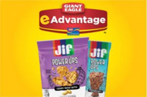 FREE Jif Power Up Bars or Clusters at Giant Eagle