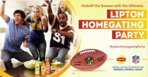 FREE Lipton Homegating Party Kit