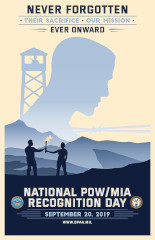 2019 National POW/MIA Recognition Day Poster