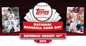 Free Topps National Baseball Card Day Cards I Crave Freebies