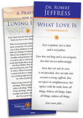 FREE What Love Is Encouragement Card
