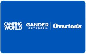 FREE Gift Cards for Camping World and Gander Outdoors