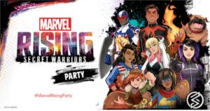 FREE Marvel Rising Secret Warriors Party Pack