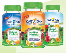One A Day Natures Medley Vitamins
