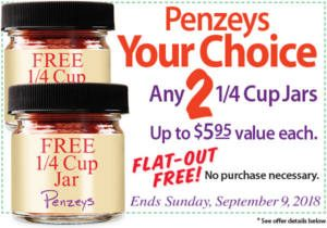 FREE Jars of Spices