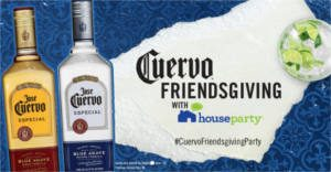 FREE Cuervo Friendsgiving House Party Pack