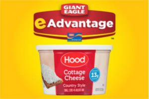 FREE Hood Cottage Cheese at Giant Eagle