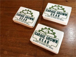 FREE Garage Grown Gear Sticker