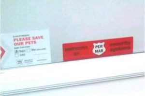 FREE Per Mar Pet Emergency Window Decal