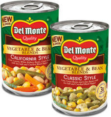 Del Monte Vegetable & Bean Blends