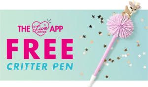 FREE Critter Pen at Justice Stores