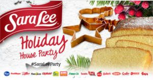 FREE Sara Lee Holiday House Party Pack