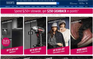 FREE $15 OFF $15 at Sears