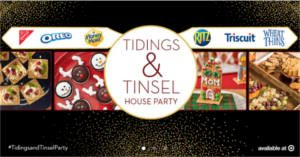 FREE NABISCO Snacks Tidings and Tinsel House Party Kit