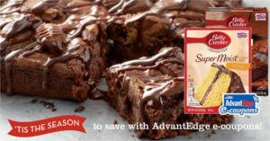 FREE Betty Crocker Cake Mix or Brownie Mix at Price Chopper