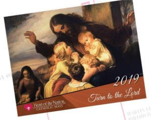 FREE 2019 Heart of the Nation Catholic Art Calendar