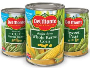 Del Monte Canned Vegetable